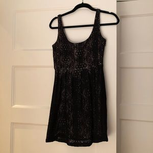BB Dakota baby doll lace mini dress